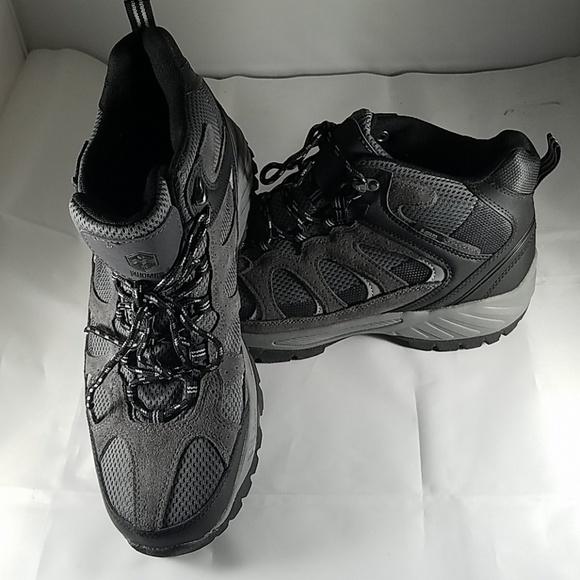 4132424d4b3 New! Mens KHOMBU Tyler Gray Black Hiking Shoes 11M NWT